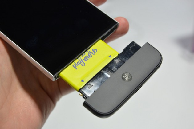 Módulo DAC de Bang & Olufsen del LG G5