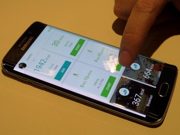 Samsung S Health Galaxy S6