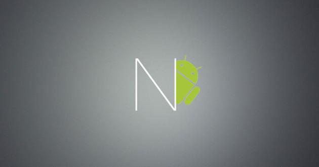 Logotipo de Android N