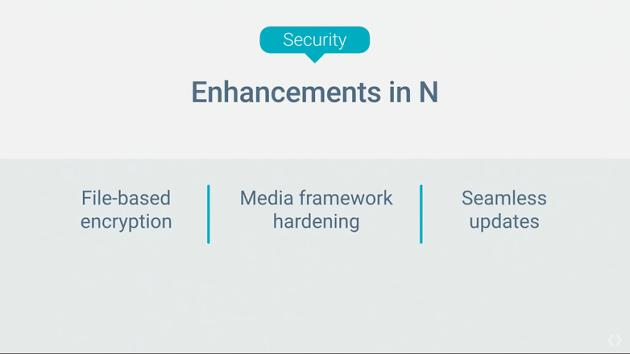 Seamless de Android N estructurado
