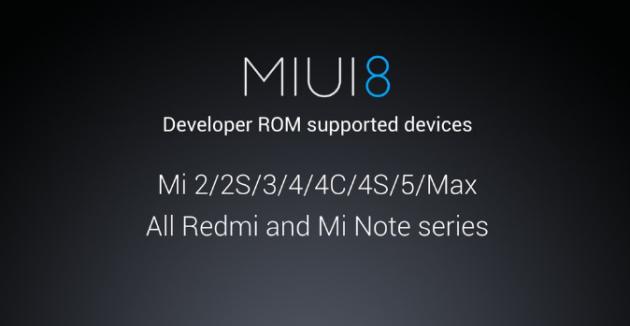 Modelo compatible en MIUI 8