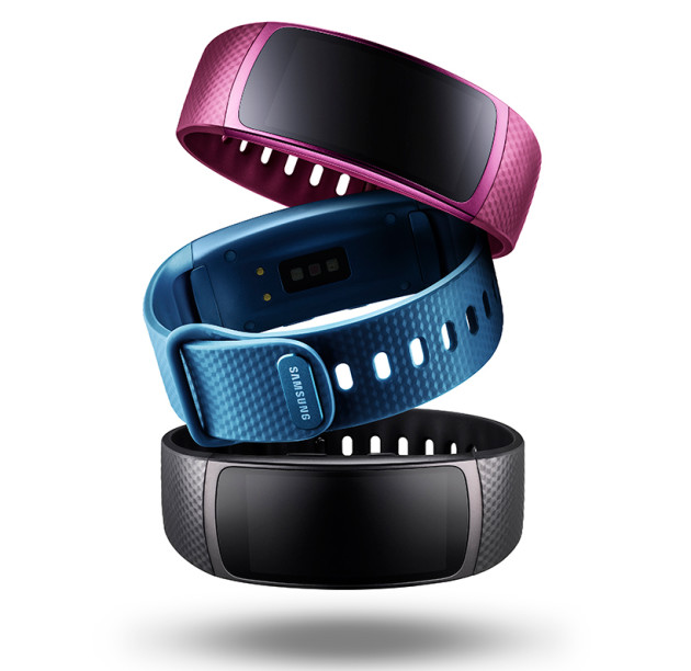 Colores de la pulsera Samsung Gear Fit 2
