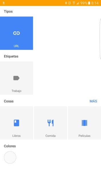 Nuevas opciones en Google Keep