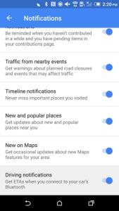 Nuevas opciones en la versión de prueba de Google Maps
