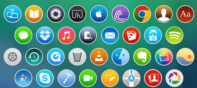 Packs iconos para Android