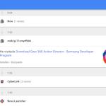 Listado Google Mi  actividad