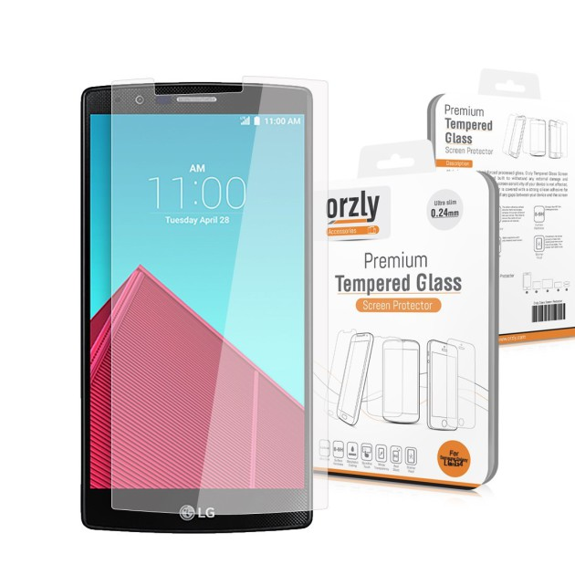 Protector Orzly LG G4 Prima Cristal Templado para el LG G4
