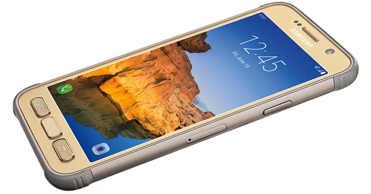 Samsung Galaxy S7 Active Dorado