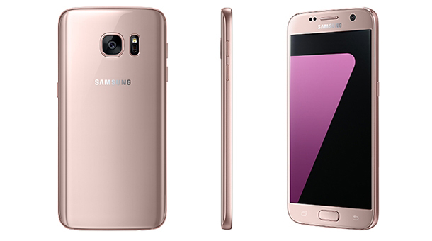 Samsung Galaxy S7 color rosa oro
