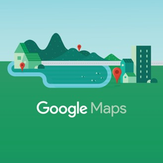 Pantalla de inicio en Google Maps para Android Wear