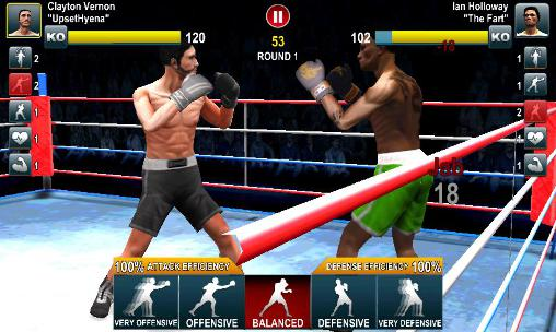 Juego Android World Boxing Challenger