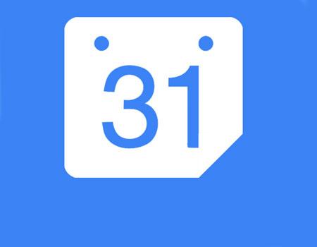 Apertura de calendario de Google