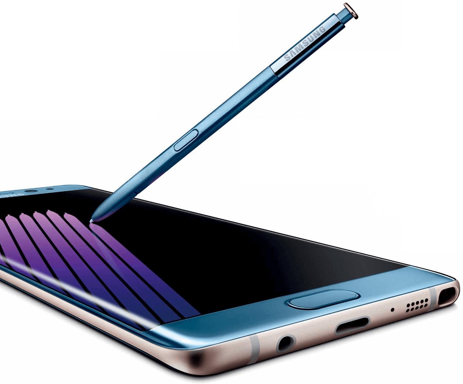Samsung Galaxy Note 7 Azul Oficial