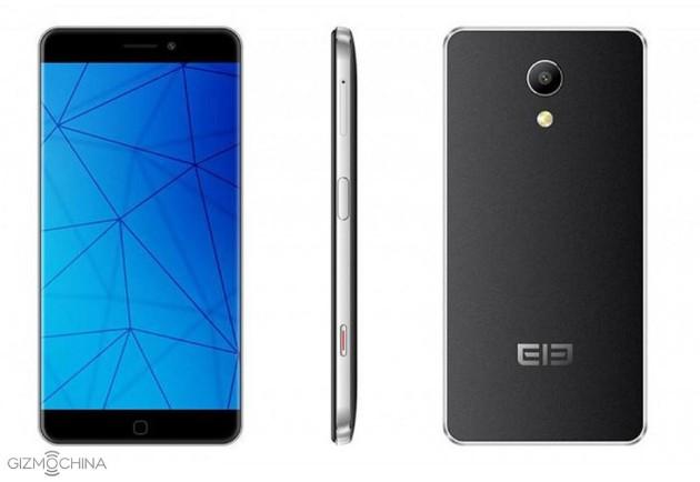 Diseño del phablet Elephone P9000 Edge