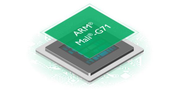 Estructura tarjeta Mali-G71