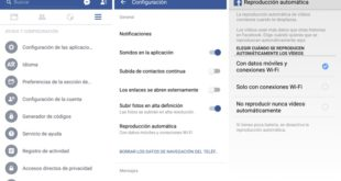 Facebook-Reproduccion-Automatica