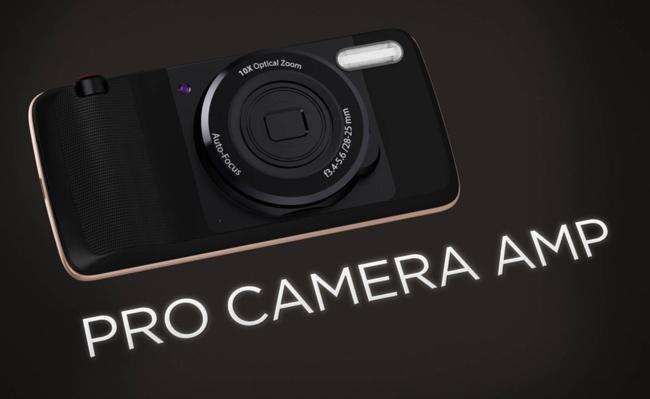 Moto Pro Camera Amp