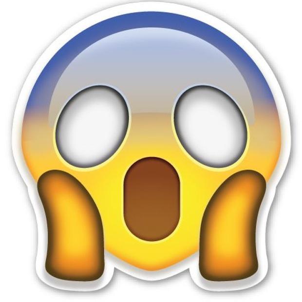 Emoji Grito