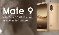 Huawei Mate 9, con cámaras de 20 MP y 12 MP, y carga superrápida
