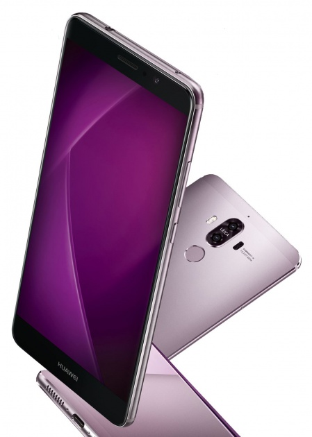 Huawei Mate 9 en color lila