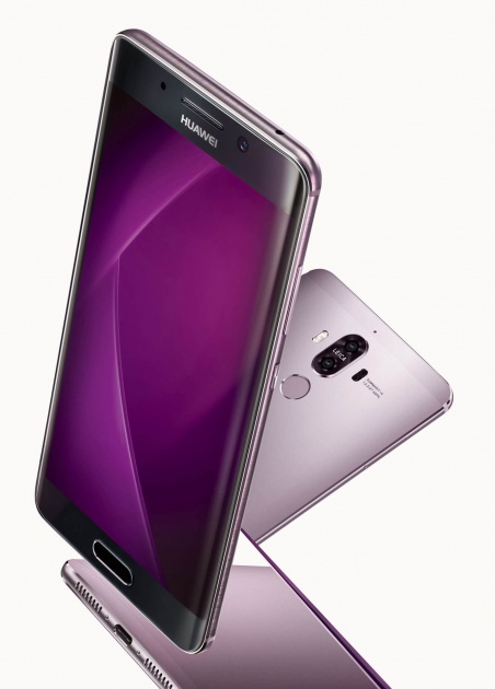 Huawei Mate 9 Pro en color lila