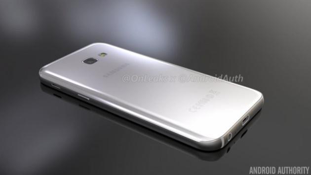 Samsung Galaxy A5 2017 Posterior