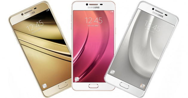 Samsung C5 Pro Colores