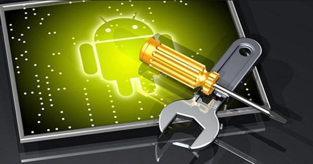 Trucos Android con destornillador