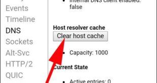 Tap-on-Clear-host-cache