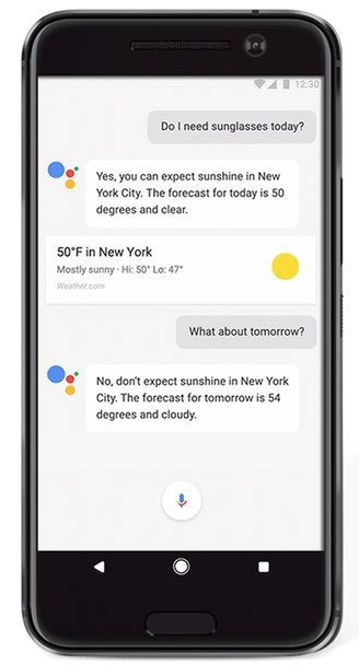 Google Assistant Moviles