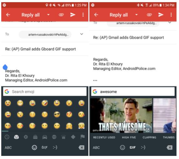gboard gif en gmail