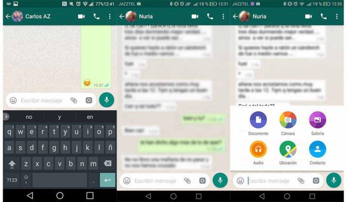 whatsapp nueva interfaz