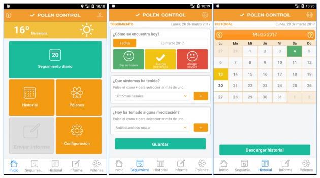 App que controla los niveles de polinización