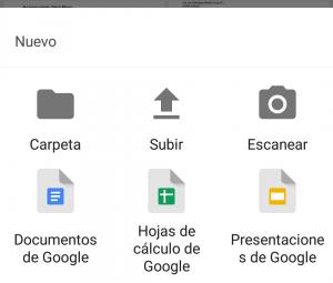 Cómo añadir archivos Google drive