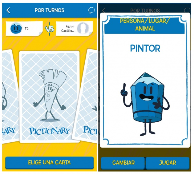 Pictionary App