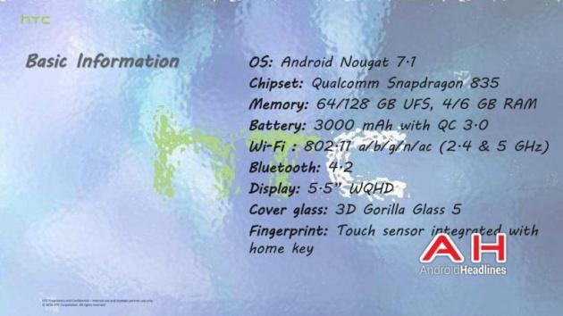 Filtradas especificaciones HTC Ocean