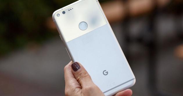 google pixel parte trasera